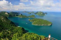 Ang Thong National Park Thailand Arkivfoto