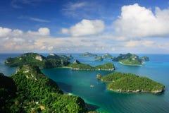 Ang Thong National Park Thailand Royaltyfri Bild