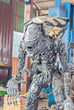 ANG THONG, THAILAND - APRIL 3 :  the Alien character made of rem Stock Photography