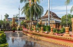 Ang Wat Preah, Siem Reap, Камбоджа стоковое изображение