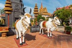 Ang Wat Preah, Siem Reap, Камбоджа стоковые фотографии rf