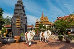 Ang Wat Preah, Siem Reap, Камбоджа стоковая фотография