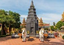 Ang Wat Preah, Siem Reap, Камбоджа стоковая фотография rf