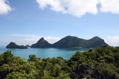 ANG-Zapfen-Inseln - Thailand Stockbilder