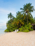 Angaga, Μαλδίβες Στοκ Φωτογραφία