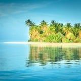 Angaga Ari环礁 免版税图库摄影