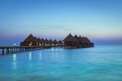 Angaga kurort Ari atol Obrazy Stock