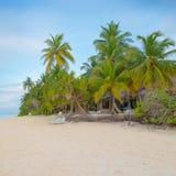 Angaga, Malediven Stockbild