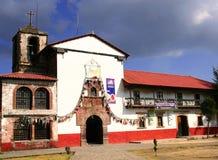 angahuan教会 免版税库存照片