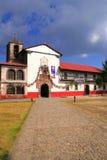 Angahuan church. Principal church of the tarascan town of angahuan in michoacan, mexico Stock Photos