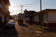 Visit in Angahuan, Michoacan, Mexico 6 royalty free stock photos