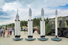 Angara (famille de fusée) Image stock