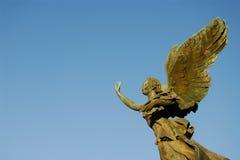 Ange à ailes Photo stock