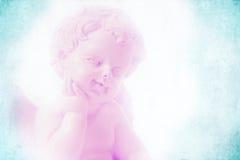 Ange à l'arrière-plan en pastel Photographie stock