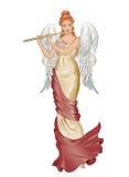 Ange avec la cannelure Photographie stock libre de droits