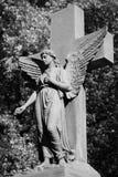 Ange avec la croix Images libres de droits