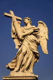 Ange avec la croix Image stock