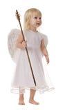 Ange avec la flèche de cupidon Photographie stock libre de droits