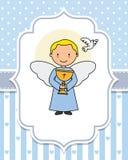 Ange avec un calice dans les mains illustration libre de droits