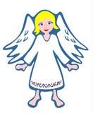 Ange blanc illustration libre de droits