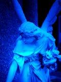 Ange bleu Photographie stock libre de droits