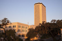 Ange Capitolbyggnad i Tallahassee Arkivbilder