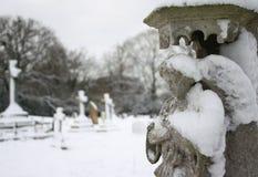 Ange dans la neige Image libre de droits