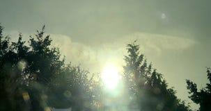 Ange dans le ciel au-dessus du wa d'Everett photographie stock