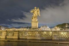 Ange de Bernini à Rome Images libres de droits