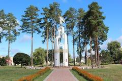 Ange de blanc de Slavutich Photo libre de droits