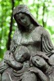 Ange de cimetière Photo libre de droits