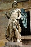 Ange de cuivre en pierre Photos libres de droits