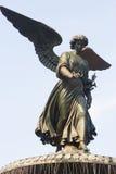Ange de fontaine de Bethesda, Central Park, New York Photo libre de droits