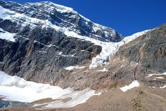 Ange de glacier Photos libres de droits