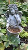 Ange de jardin Images stock