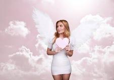 Ange de l'amour Photo stock