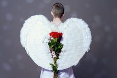 Ange de l'amour photographie stock