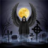 Ange de la mort Images libres de droits