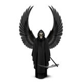 Ange de la mort avec deux ailes Images stock