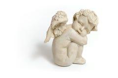 Ange de marbre Image stock