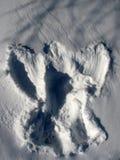 Ange de neige Photographie stock libre de droits