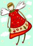 Ange de Noël illustration libre de droits