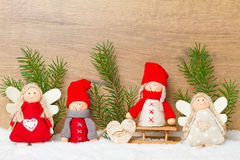 Ange de Noël photos libres de droits