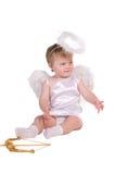 Ange de Noël, petit enfant Photos libres de droits
