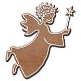 Ange de pain d'épice Image stock