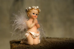 Ange de prière Photographie stock