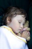 Ange de sommeil Images stock