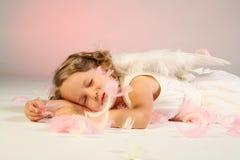 Ange de sommeil Photographie stock