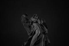 Ange de statue de Castel Sant ' Angelo Photographie stock libre de droits