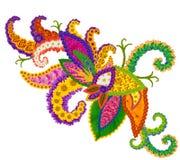 Ange de symbole floral d'abrégé sur amour Photographie stock